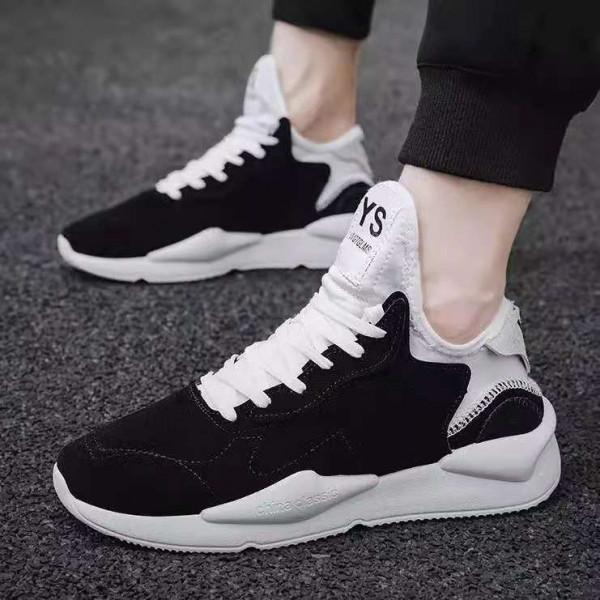 YS Men's Velvet Sports Shoes