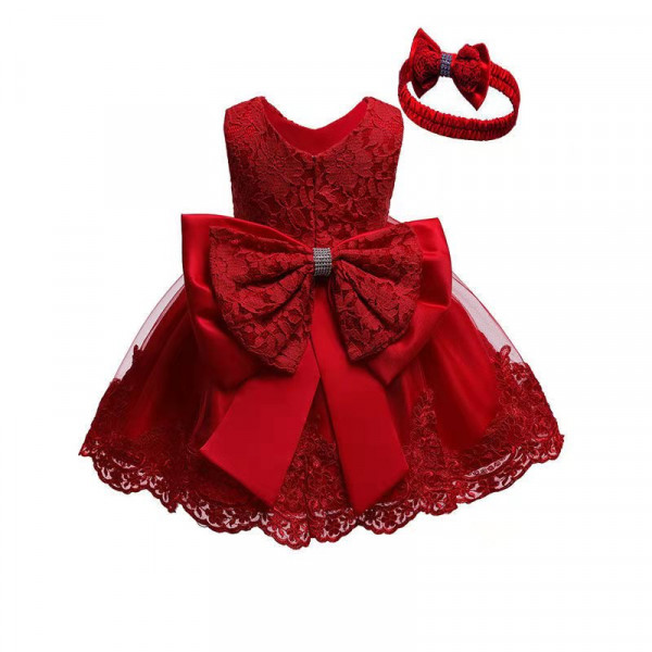 Maroon Party Frock