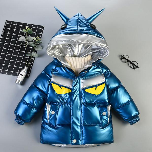 Boys Glossy Korean Style Jacket Coat