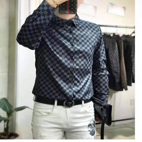 Men's Casual Full Sleeve Shirt
