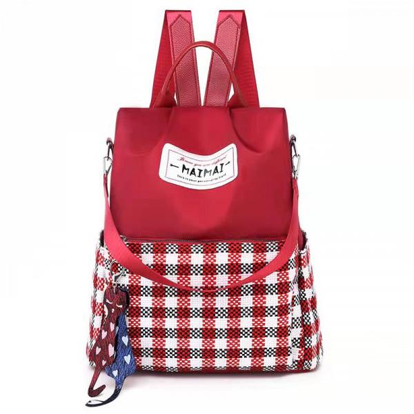 Korean Fashion Leisure Oxford Backpack
